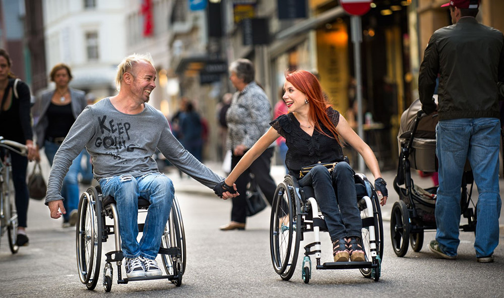 All unsere Rollstühle sind komfortabel gestaltet - Kanters Sanitätshaus