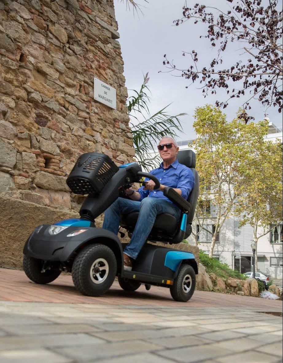 Scooter - Schnell und einfach wieder mobil - Sanitätshaus Kanters