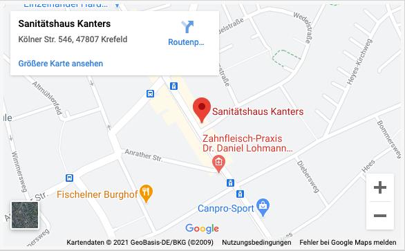Sanitäshaus Kanters Kölner Straße Fischeln Googlemaps
